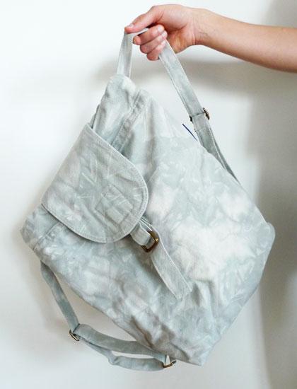 Baggu grey backpack