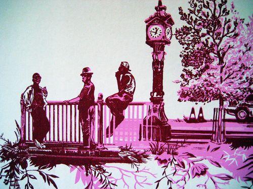 TB London toile detail