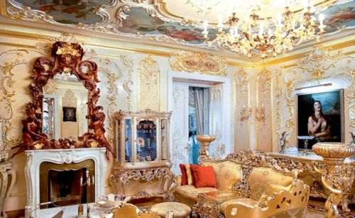 Rococo Apartment in St Petersburg