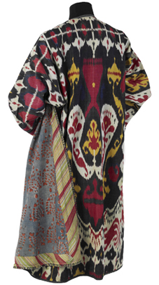 Uzbekistan women's robe