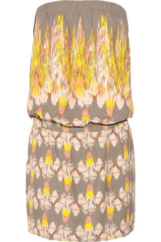 Ikat inspired printed dress by Tibi at Net-A-Porter